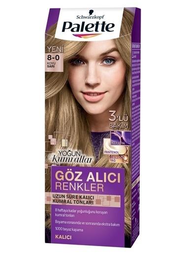 Palette Palette Yoğun Göz Alıcı Renkler Saç Boyası 8-0 Renkli
